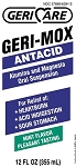Geri-Mox Antacid Liquid - 12 oz. Bottle
