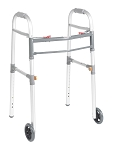 Drive Universal Two Button Folding Walker with 5