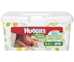 Huggies Natural Care Baby Wipes - Tub