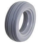 Urethane 4-Rib Wheelchair Tire -  6