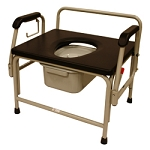 Roscoe Extra Wide Bariatric Drop-Arm Commode