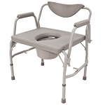 Roscoe Bariatric Drop-Arm Commode - Case of 2