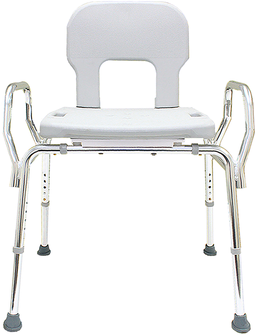 Eagle Bariatric Shower Chair With Back And Arms