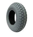 Foam Filled Knobby Wheelchair Tire - 13 x 4