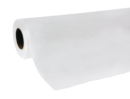 McKesson White Crepe Exam Table Paper
