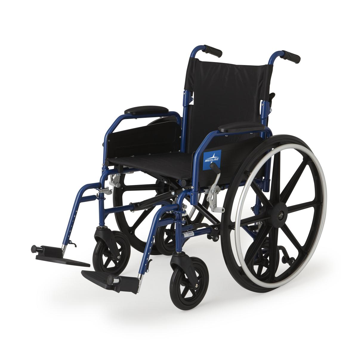 Combo Chair Ii: Medline Excel Hybrid 2 Transport Chair Wheelchair Combo At