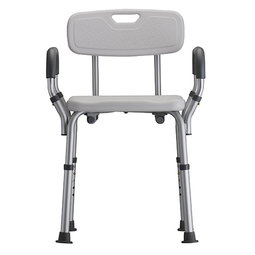 Nova Shower Chair with Back and Padded Arms