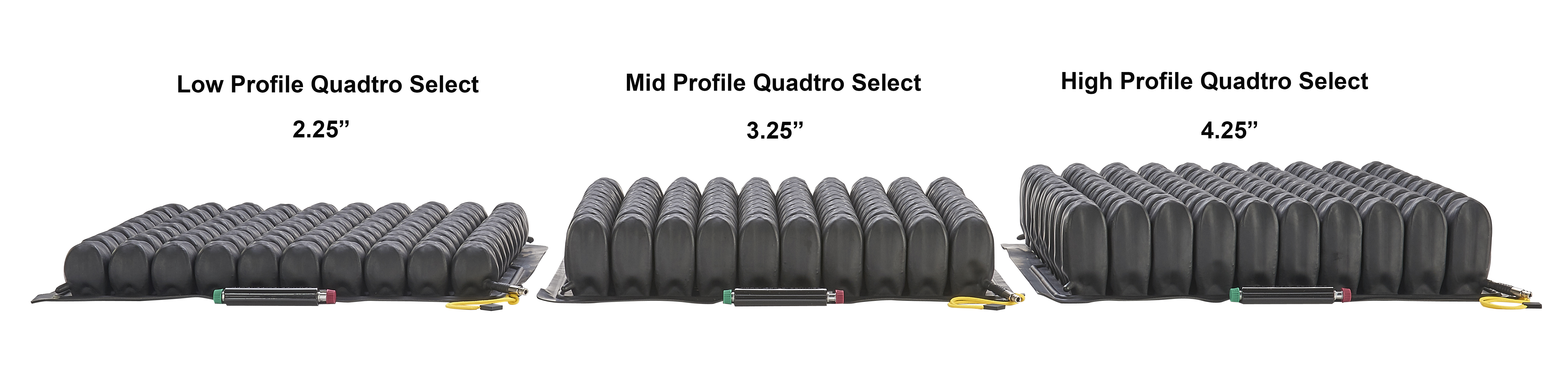 Roho High Profile Quadtro Select Wheelchair Cushion At Indemedical