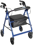 Aluminum Rollator with 6