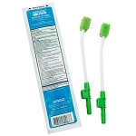 Sage Toothette Single Use Suction Swab System with Perox-A-Mint Solution - Pack of 2