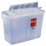 In-Room Sharps Containers with Always-Open Lid