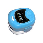 Simpro Blue Pediatric Fingertip Pulse Oximeter