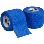 3M Coban Self-Adherent Wrap - Blue 1 x 5 yards