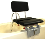 Eagle Padded Tub-Mount Swivel Sliding Transfer Bench