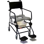 ActiveAid JTG F605 Folding Shower Commode Chair with 5