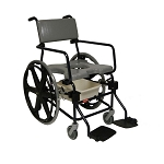 ActiveAid JTG F624 Folding Shower Commode Chair With 24