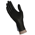 Ambitex Black Nitrile Textured Powder-Free Exam Gloves
