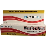 Careall Muscle and Joint Gel, 2.5% Strength 3 oz. Tube