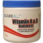 CareAll Vitamin A & D Topical Ointment 15 oz Jar