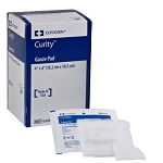 Curity Individually Wrapped 12-Ply Sterile Gauze Pads