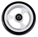 Ultra Light Aluminum Caster Wheel, 4 x 1 w/ 5/16'' Bearing - Pair