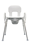 Eagle Bariatric Commode, Raised Toilet Seat and Shower Chair