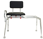 Eagle Padded Swivel Sliding Transfer Bench