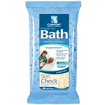 Sage Fragrance-Free Essential Bath Cleansing Washcloths - Pack of 8
