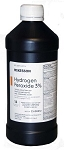 Hydrogen Peroxide, 3% USP Volume, 16 oz. Bottle
