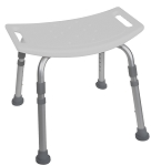 McKesson Aluminum Bath Bench