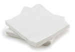 McKesson Disposable White Washcloth - Case of 800