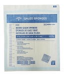 Medline 100% Cotton Woven Gauze Sponges - Sterile 10s