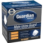 Guardian for Men Male Urine Guards - Box of 10