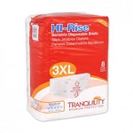 Tranquility HI-Rise Bariatric Disposable Briefs