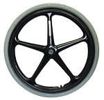 X-Core 5-Spoke Wheel - 24 x 1 3/8