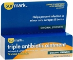 Sunmark Triple Antibiotic Ointment - 1 oz.
