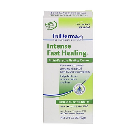 TriDerma Intense Fast Healing Cream - 4 oz Jar