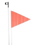 Top End Safety Flag with Flag Holder