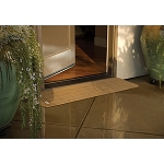 PVI Rubber Threshold Ramps - StoneCap Transition - Nutmeg