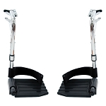 Invacare Swing Away Composite Footrest - Pair