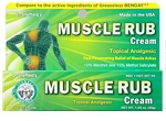Dr. Sheffield's Muscle Rub Cream 1.25 oz Tube