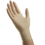Ambitex Clear Vinyl Powder Free Exam Gloves