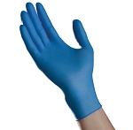 Ambitex N400 Blue Nitrile Powder Free Exam Gloves