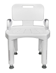 McKesson Premium Plastic Shower Chair