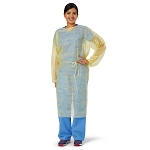 Medline Yellow Isolation Gown