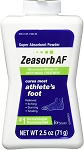 Zeasorb Athlete's Foot 2.5 oz
