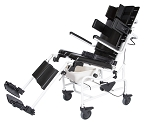 ActiveAid Tilt In Space Plus Shower Commode Chair, 283