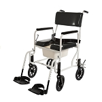 ActiveAid Series 480 Stainless Steel Shower Commode Chair