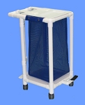 Aqua Creek PVC Hamper Cart
