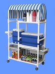 Aqua Creek PVC Hydration Cart